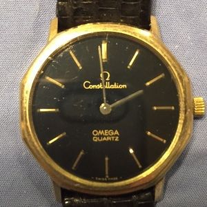 Omega 10k gold filled Constellation watch